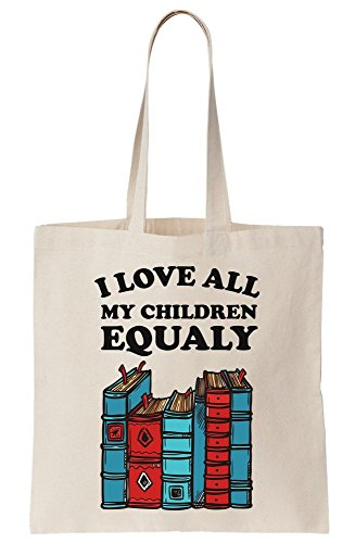 All Tote Lover Canvas Children Love Books Equally Bag I Parody My gRfWxaq