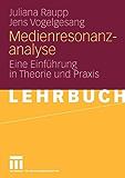 Medienresonanzanalyse: Eine Einführung in Theorie und Praxis