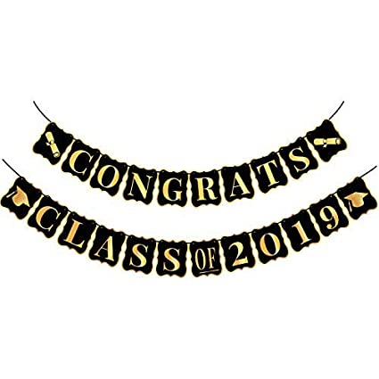 Amazon Com Congrats Class Of 2019 Graduation Party Supplies 2019