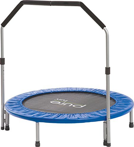 "Pure Fun 40"" Mini Rebounder Trampoline With Adjustable"