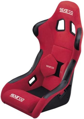 Sparco Fighter rojo asiento: Amazon.es: Coche y moto