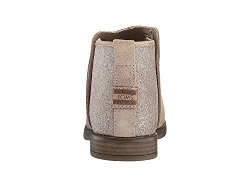 Toms Youth Deia Suede Bootie, Size: 6 M US Big Kid, Color: Oxford Tan Suede/Glimmer by TOMS