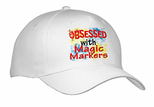 blonde-designs-obsessed-with-obsessed-with-magic-markers-caps-adult-baseball-cap-cap-241691-1