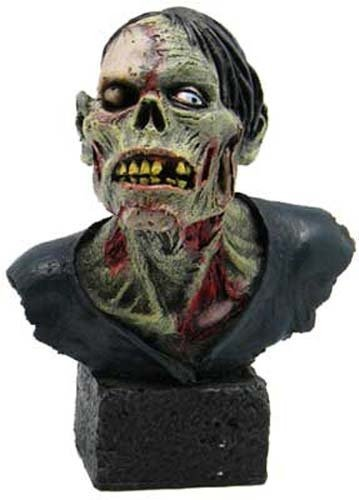 Pacific Giftware One Eyed Skeleton Zombie Head & Bust Resin Figurine Statue, 4