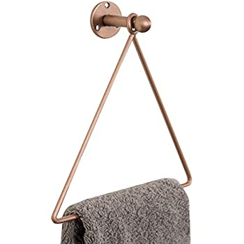 Amazon.com: MyGift - Toallero de baño de metal cromado ...