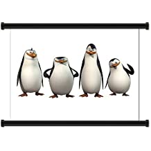 """The Penguins of Madagascar Animated TV Series Fabric Wall Scroll Poster (32"""" X 25"""") Inches"""