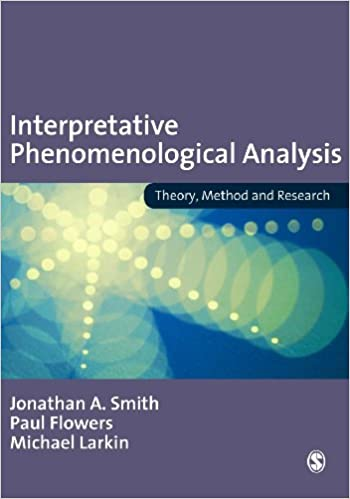 Interpretative phenomenological analysis theory method and interpretative phenomenological analysis theory method and research kindle edition by jonathan a smith paul flowers michael larkin fandeluxe Gallery