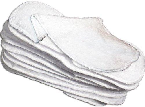 color blanco Junior Joy Finn 2 unidades Braguita cubrepa/ñal para reci/én nacidos