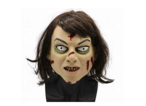 Mask Costumes for Men Scary Halloween Costumes Superhero Halloween Halloween Costumes for Men Superhero (The Exorcist Regan)