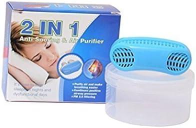 2 en 1 Antironquidos y purificador de aire cómodo para evitar ...