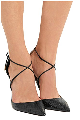 Kevin Fashion KLSDN191 Women's X-strap PU Leather Evening Club Party Evening Leather Pumps Shoes B01FPGRLA0 Shoes 42aa47