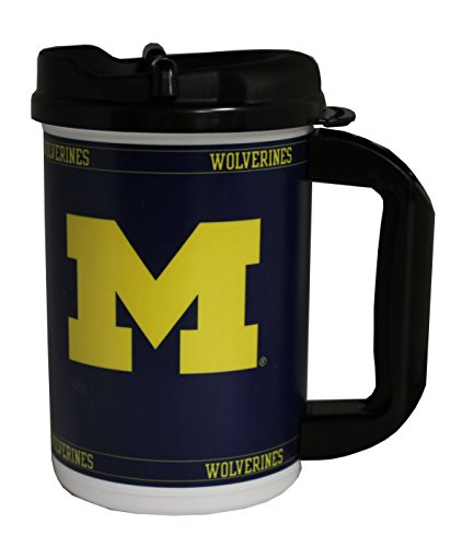 GameDay Novelty NCAA Michigan Wolverines Mini Mega Mug, 20 oz