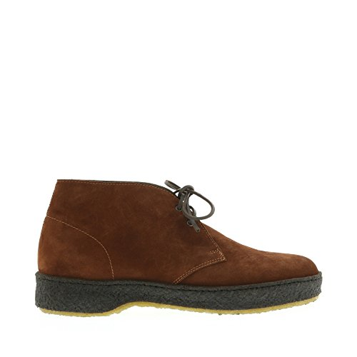 8100 Melrose Uomo Marrone In Crepe Sole Desert Boot Brown