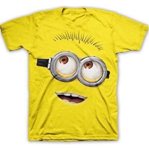 2XL Yellow Big Face Minion Despicable Me 2 Mens T-Shirt XXL
