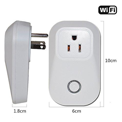 Zehui–Plug Switch Home Smart Power WiFi App Intelligent de salida Remote Control Cellphone Socket
