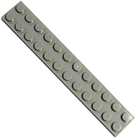 LEGO Parts and Pieces: Light Gray (Medium Stone Grey) 2x12 Plate x20