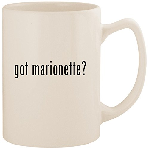 got marionette? - White 14oz Ceramic Statesman Coffee