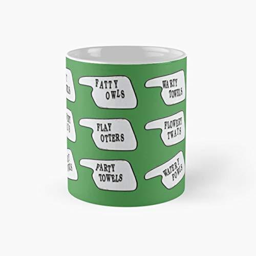 Fawlty signs Mug, fawlty Cup, 11 Ounce Ceramic Mug, Perfect Novelty Gift Mug, Funny Gift Mugs, Funny Coffee Mug 11oz, Tea Cups 11oz -