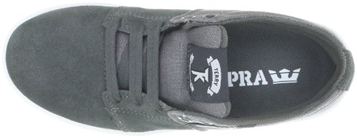 Chaussure De Skate Supra Tk Low Stacks - Anthracite Pour Homme