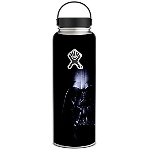 40 Ounce Vinyl (Skin Decal Vinyl Wrap for Hydro Flask 40 oz Wide Mouth / Lord Vader Darkside)