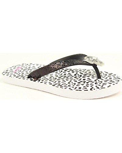 Blazin Roxx Ladies Maddie Snow Leopard Flip Flops Leopard JOpuCssWrY