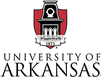 U Of Arkansas >> Amazon Com 7 Inch University Of Arkansas Logo Uark