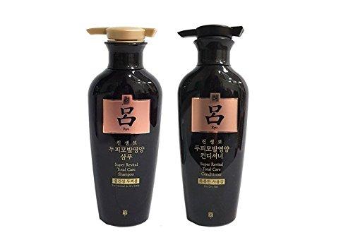 Ryoe Korean Ginsengbo Total Anti-aging Shampoo + Conditioner 400g by Ryoe Jinsaengbo Shampoo