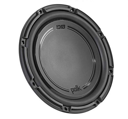 Polk Audio DB+ 10 Inch 1050 Watt 4 Ohm DVC Marine & Car Subwoofer | DB1042DVC ()