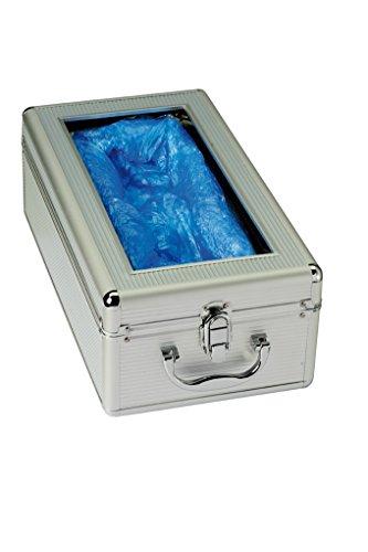Jurine 957560 Distributeur automatique pour couvre-chaussures en aluminium