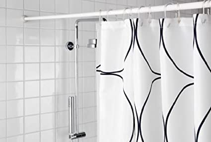 Buy Aurora Shower Curtain Rod Expandable Extendable 42 78