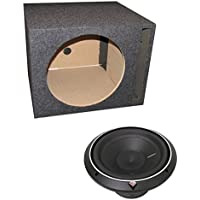 Rockford Fosgate P2D2-12 12 800 Watt 2-Ohm Punch Series Car Audio Sub + Sub Box