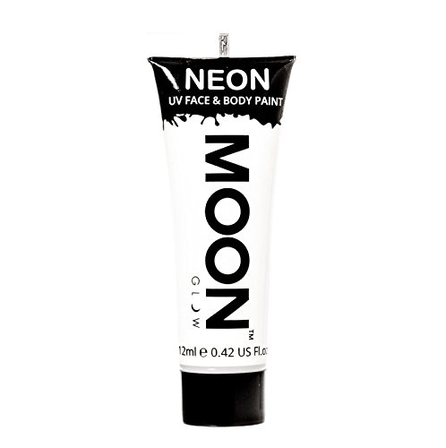 Moon Glow - 0.42oz Blacklight Neon UV Face & Body Paint - White