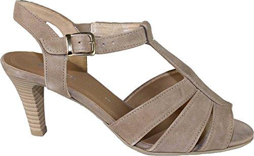 Gabor Sandalette Damen Sommerschuhe beige