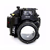 EACHSHOT Waterproof Underwater Housing Camera Diving Case for Olympus EM1 E-M1 12-40mm Len