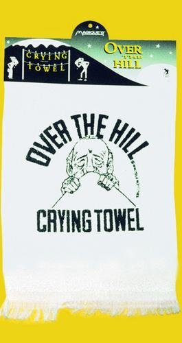 Magique Novelties mg4753 over the hill Man On Hill Crying towel-パックof 6 B00489LEDG