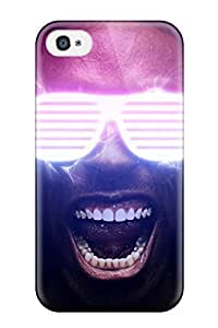 Cute High Quality Iphone 4/4s Glasses And Very White Teeth Case