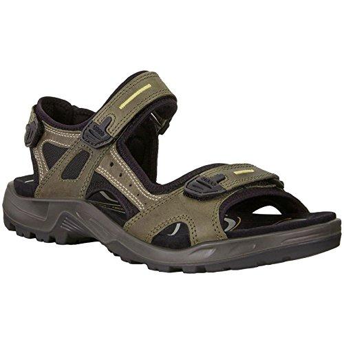 Sandals Ecco Mens (ECCO Men's Yucatan Sandal,Tarmac/Moon Rock,43 M EU (US Men's 9-9.5 M))