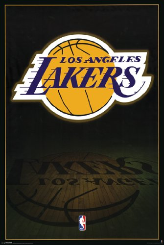 "Hotstuff Lakers Logo 24"" x 36"" Poster Print"
