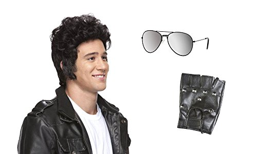 [Greaser Rollin 80s Costume Kit] (80s Rock N Roll Costumes)