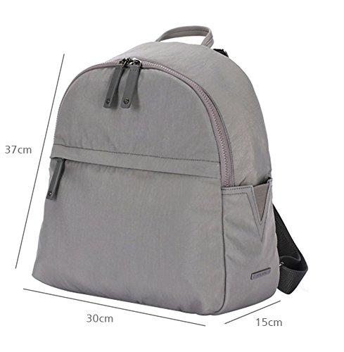 anuanu cambiador de bebé (multiusos bolsa de pañales Ash grey Talla:RANI Ash grey
