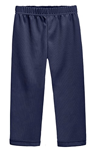 City Threads Athletic Pants For Boys and Girls Sports Camps School Running Basketball Sweat Pants Sweats Perfect For Sensitive Skin or SPD Clothing, Navy, 6 - School Kids Sweatpants