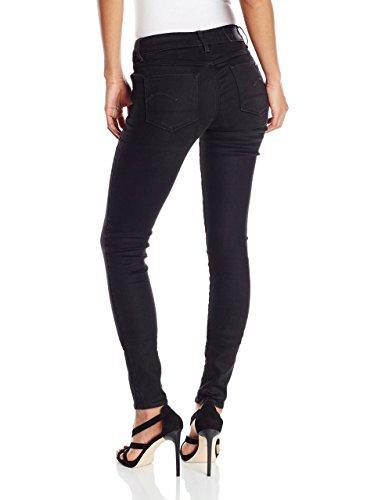 Noir 6348 G Antic Aged Femme Raw Jeans medium star Aq8rIA