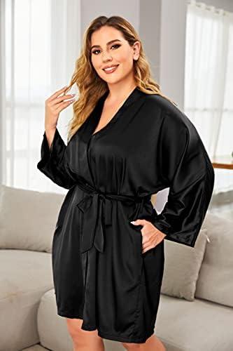 Cheap silk robes in bulk _image2