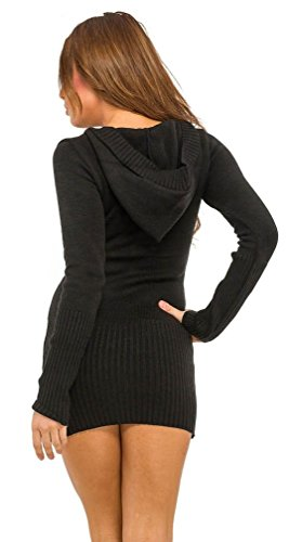 mailles pull longues Femme Glamour Empire en Pull long manches wX0f8q7