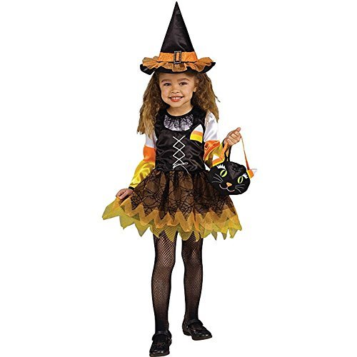 Rubie's Candy Corn Witch for a toddler -