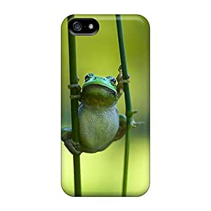First-class Case Cover For Iphone 5/5s Dual Protection Cover Tubby Frog