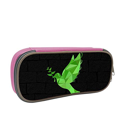 Flying Dove Large Capacity Multi-Layer Pencil Case Back To School Choice Pink by dreambest
