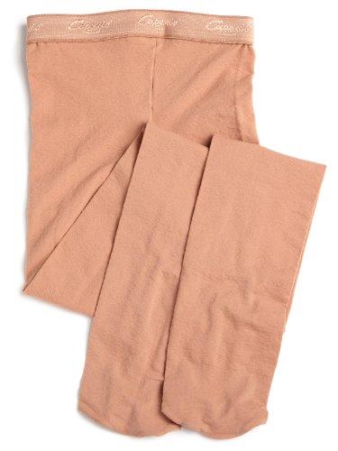 Capezio Little Girls' Over-The-Boot Tight Socks, Suntan, (Capezio Microfiber Tights)
