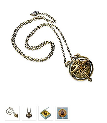 Disney - Alice Through the Looking Glass Chronosphere Necklace - New ()