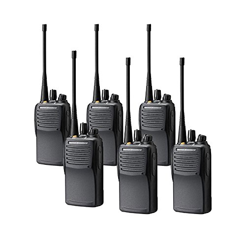 6 Pack of Motorola VX-451 Waterproof/Dust-tight UHF Two Way Radios - Radios Intrinsically Safe